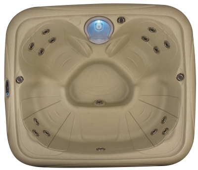 Dream Maker EZ Spa Hot Tub in Cobblestone