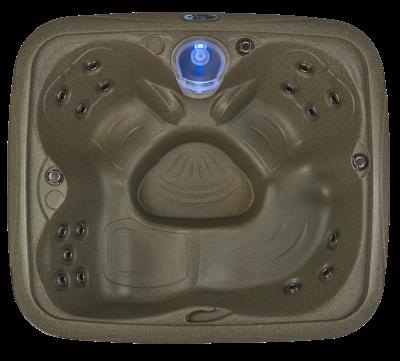 Dream Maker EZL Hot Tub in Brownstone