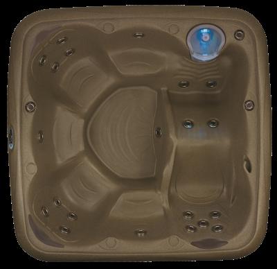 Dream Maker Odyssey Hot Tub in Brownstone